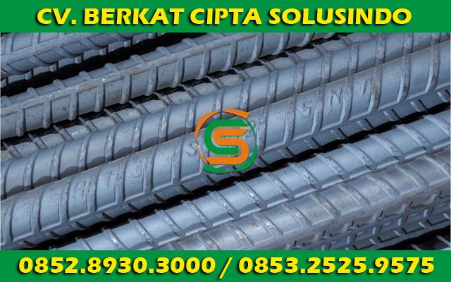 Distributor Besi Baja dan Baja Ringan Surabaya - Besi Beton Polos SNI, Besi Beton Ulir SNI Segala Ukuran 01