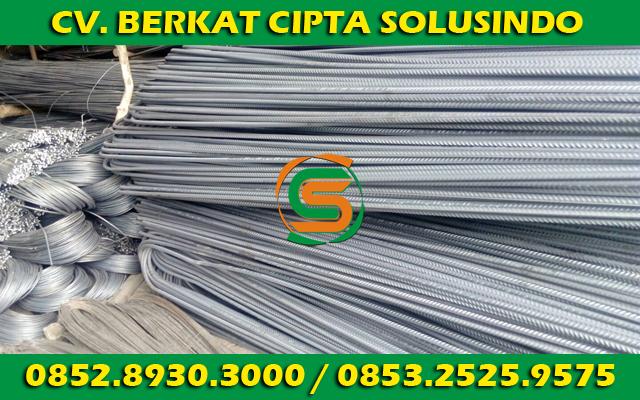 Distributor Besi Baja dan Baja Ringan Surabaya - Besi Beton Polos SNI, Besi Beton Ulir SNI Segala Ukuran 02