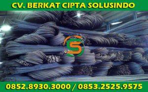 Distributor Besi Baja dan Baja Ringan Surabaya - Besi Beton Polos SNI, Besi Beton Ulir SNI Segala Ukuran 03