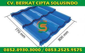 Distributor Besi Baja dan Baja Ringan Surabaya - Genteng Metal, Genteng Metal Berpasir SNI