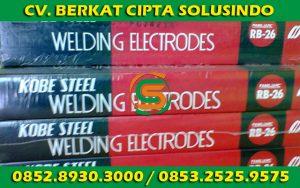 Distributor Besi Baja dan Baja Ringan Surabaya - Kawat Las RB 26 Kobe Steel