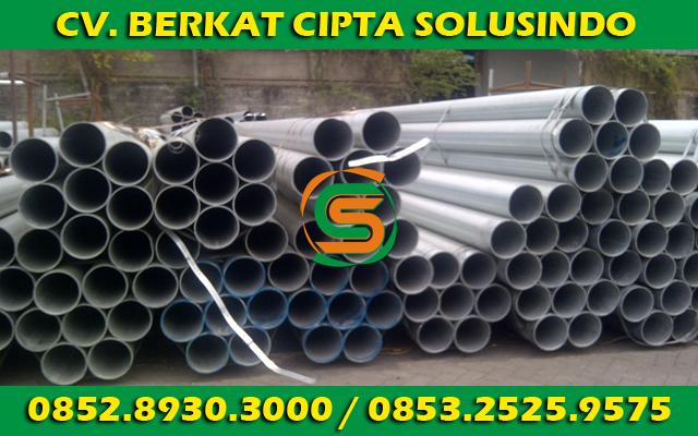 Distributor Besi Baja dan Baja Ringan Surabaya - Pipa Air, Pipa Gas, Pipa Schedule 03