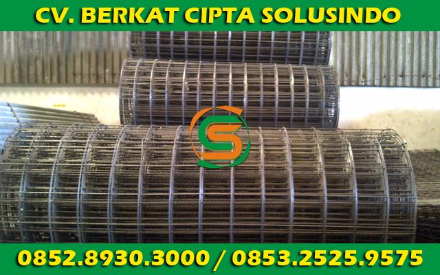 Distributor Besi Baja dan Baja Ringan Surabaya - Wiremesh Gulungan Rol