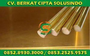 Distributor Besi Baja dan Baja Ringan Surabaya - round bar kuningan, pipa kuningan, plat kuningan