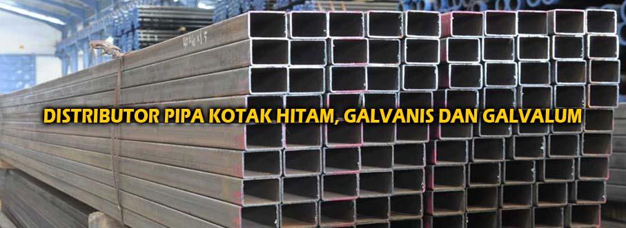 Slider 02 Distributor Besi Pipa Kotak Hitam, Pipa Kotak Galvanis, dan Pipa Kotak Galvalum